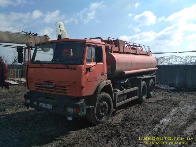 Продажа КамАЗ 55111 , Грузовик - бензовоз, фото #1