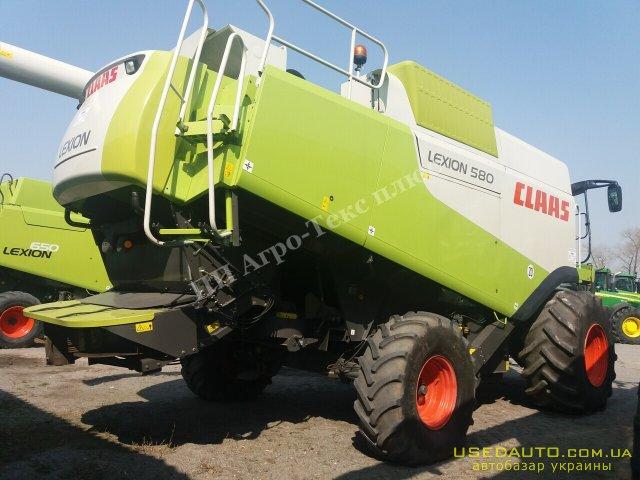 Продажа CLAAS Lexion 580 , , фото #1