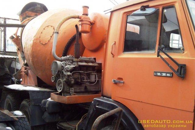 Продажа КАМАЗ 5511 , Бетоносмеситель, фото #1