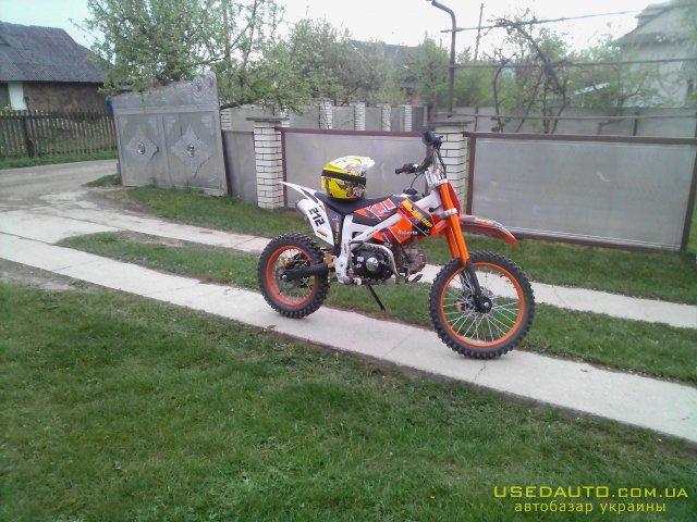 Продажа Кауа KXD MOTO , Кроссовй мотоцикл, фото #1