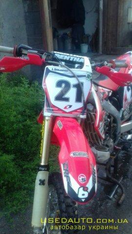 Продажа HONDA CRF-450 R (ХОНДА), Кроссовй мотоцикл, фото #1