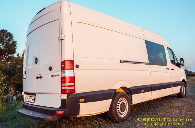 Продажа MERCEDES-BENZ Sprinter , Грузопассажирский микроавтобус, фото #1