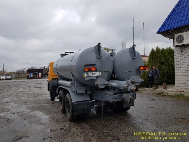 Продажа КамАЗ Ассенизатор , Грузовик - муковоз, фото #1