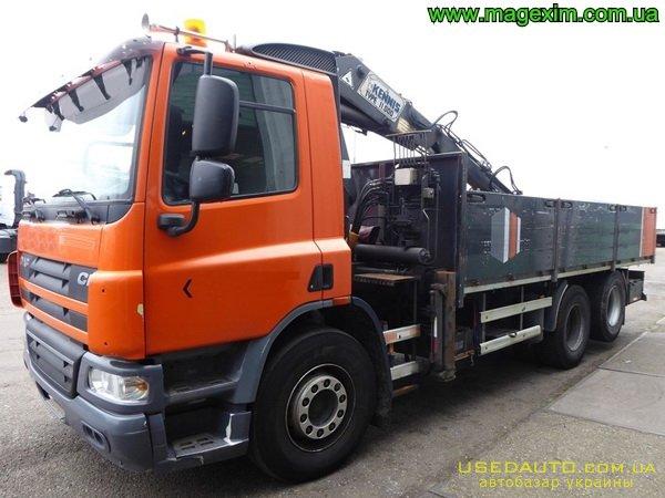 Продажа DAF CF 75.250 (ДАФ), Бортовой грузовик, фото #1